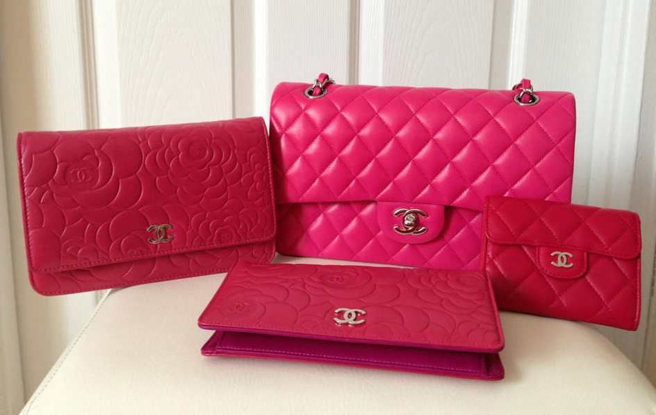 Pink Chanel Bag Collection