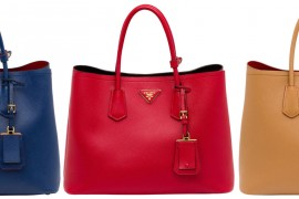 The New Must-Have: Prada Saffiano Cuir Double Bag