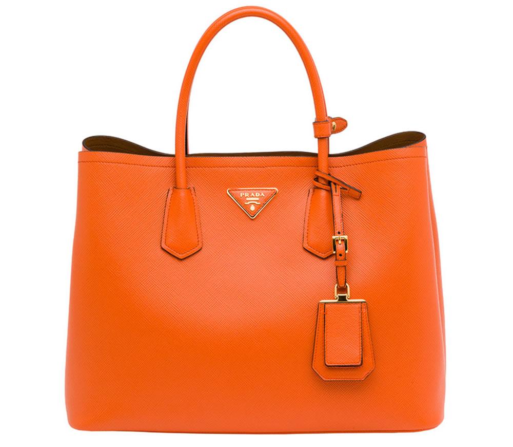 08147b3aea30 The New Must-Have  Prada Saffiano Cuir Double Bag - PurseBlog