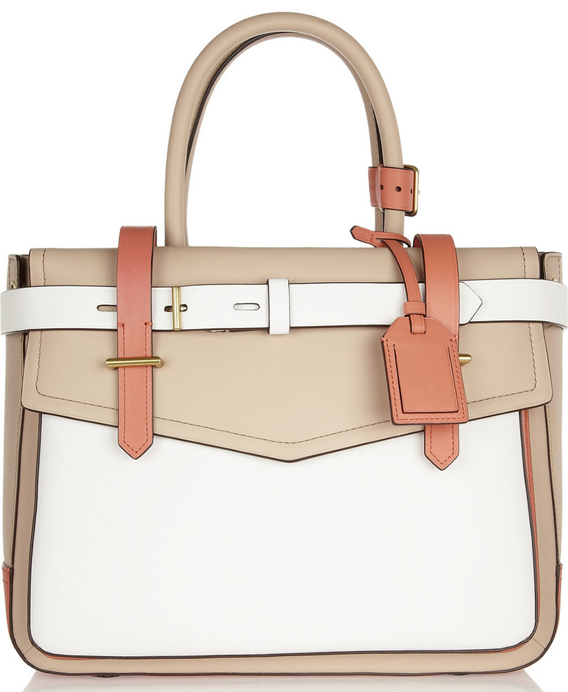 Reed Krakoff Boxer Tote Tri Color