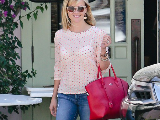 Reese Witherspoon Louis Vuitton Soft Lockit Bag