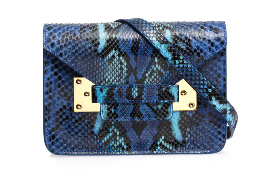 Sophie Hulme Mini Envelope Crossbody Bag