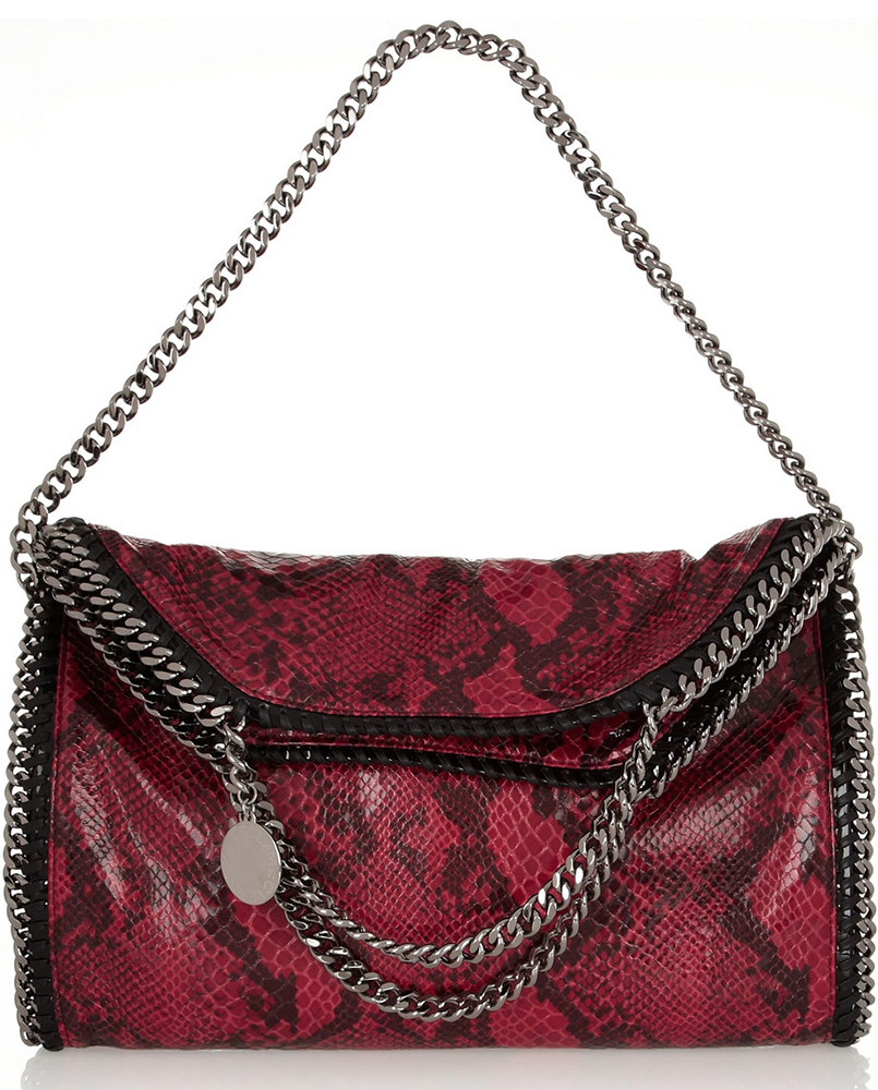 Stella McCartney Falabella Faux Snake Bag