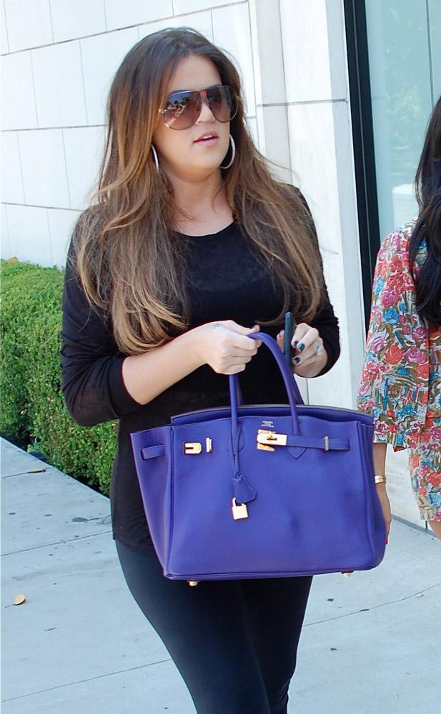 The Many Bags Of Khloe Kardashian 16
