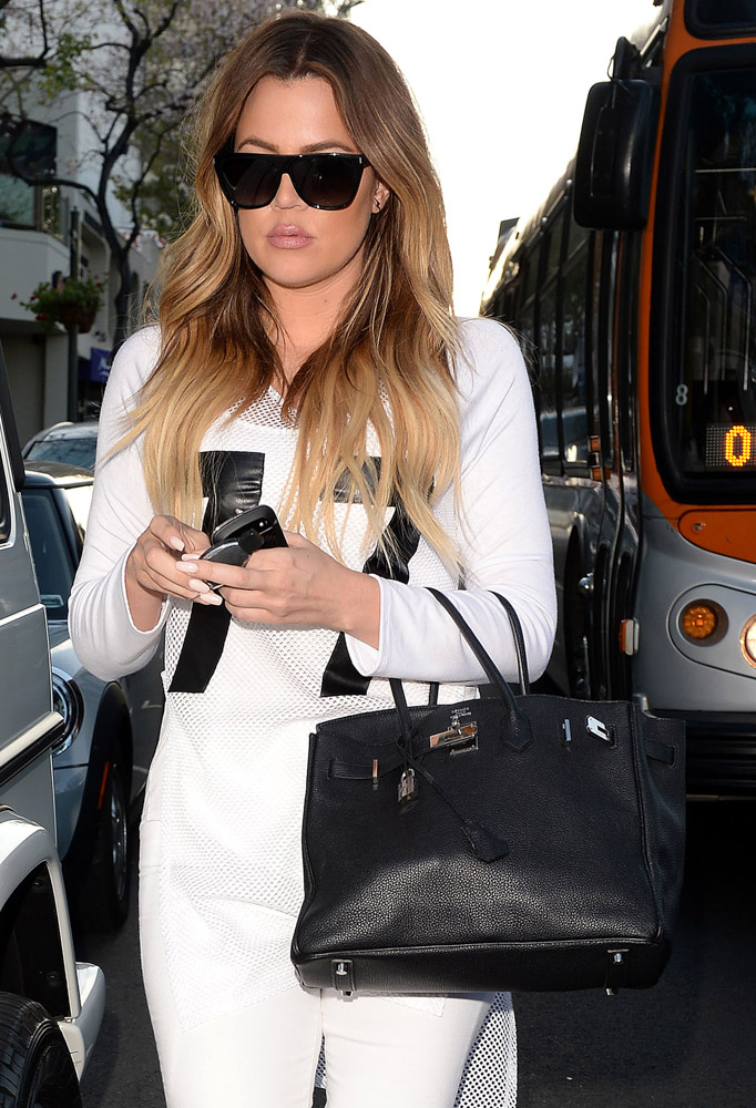 The many bags of khloe kardashian purseblog for How many kardashians are there