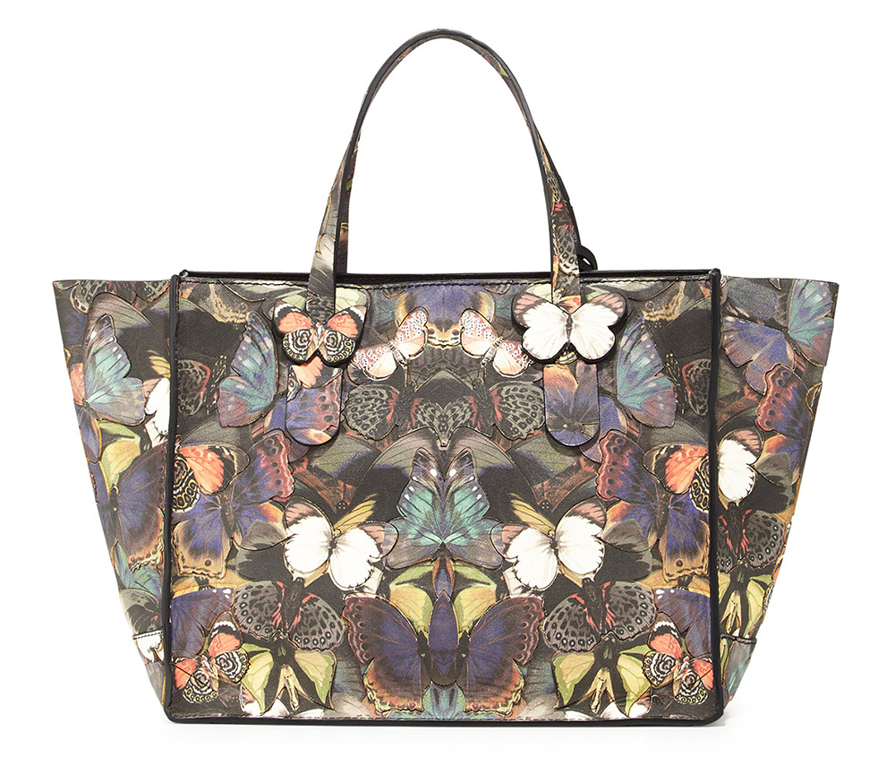 Valentino Butterfly Camouflage Tote