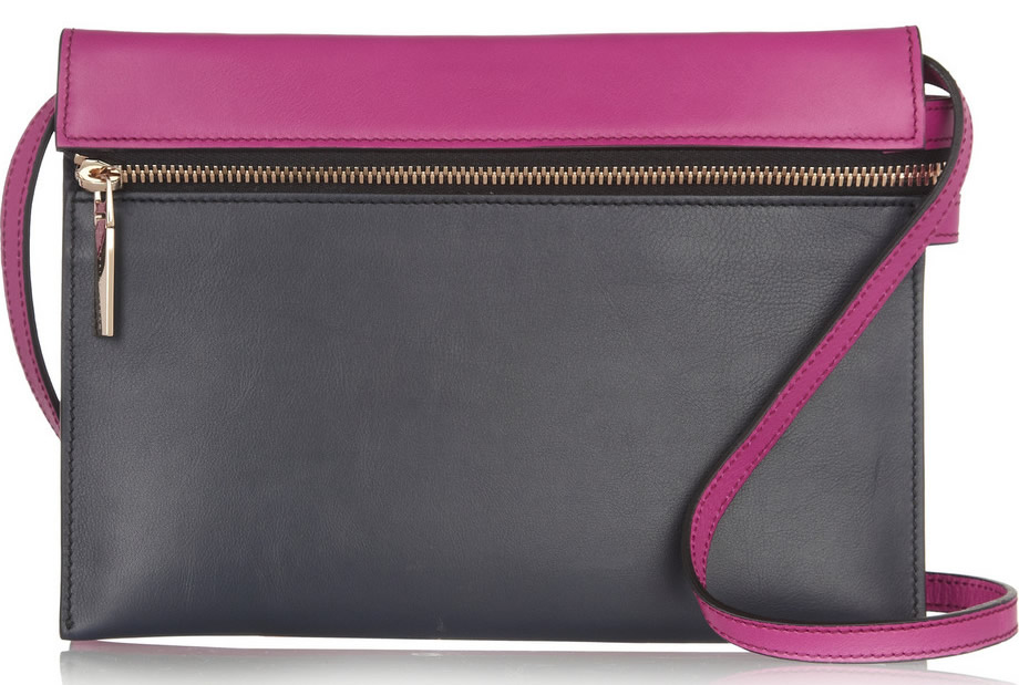 Victoria Beckham Two-Tone Shoulder Bag