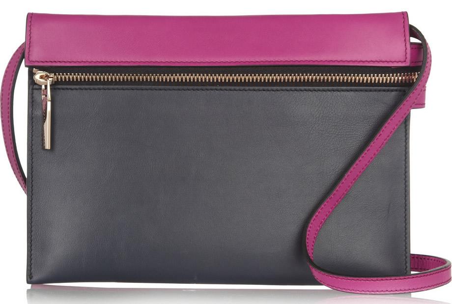 Victoria Beckham Two-Tone Shoulder Bag