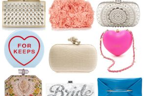 Here Comes the Bride: Spring 2014's Best Wedding Clutches