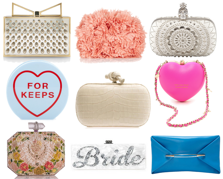 Wedding Clutches Spring 2014