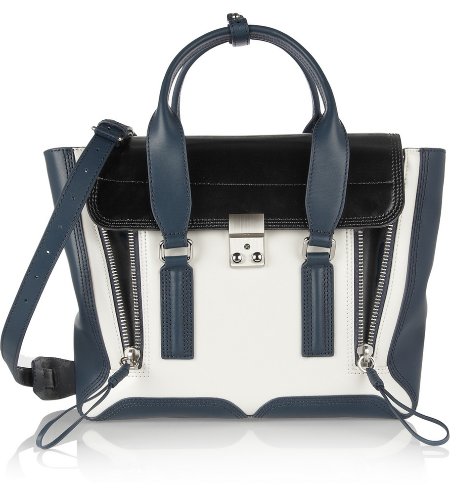 3.1 Phillip Lim The Pashli medium leather trapeze bag