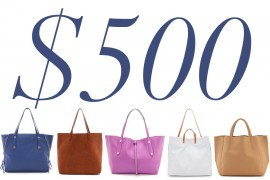5 Under $500: Simple Totes