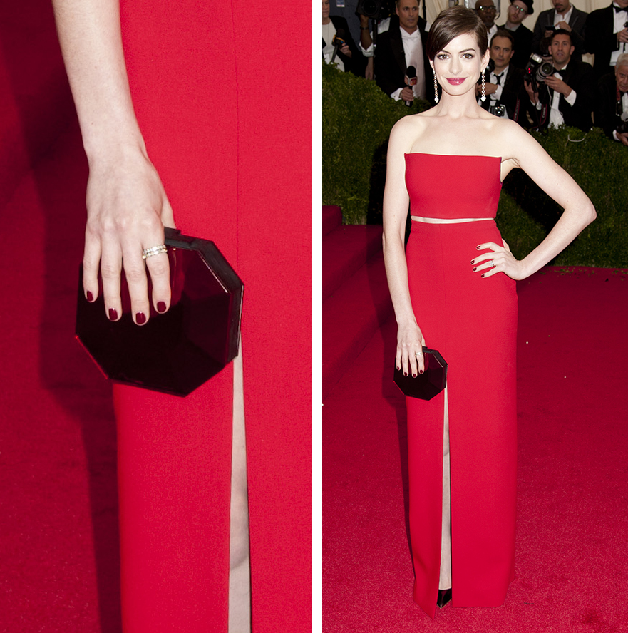 Anne Hathaway Rauwolf Gemstone Clutch