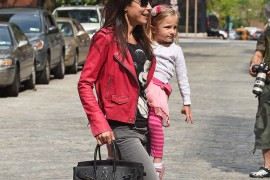 Bethenny Frankel Picks Up Bryn With a Birkin in Tow