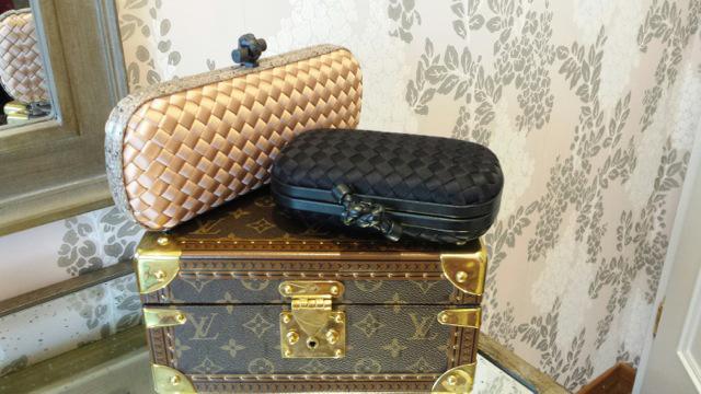 Bottega Veneta Clutches Louis Vuitton Train Case