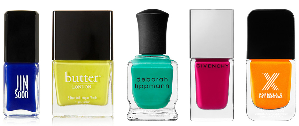 Bright Nail Polishes