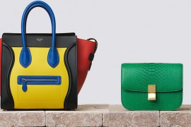 The 9 Most Colorful Bags of Celine Summer 2014