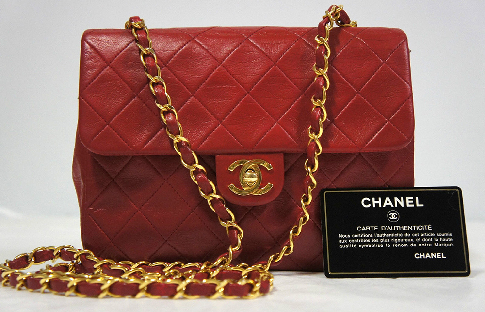 Chanel Vintage Classic Single Flap Bag