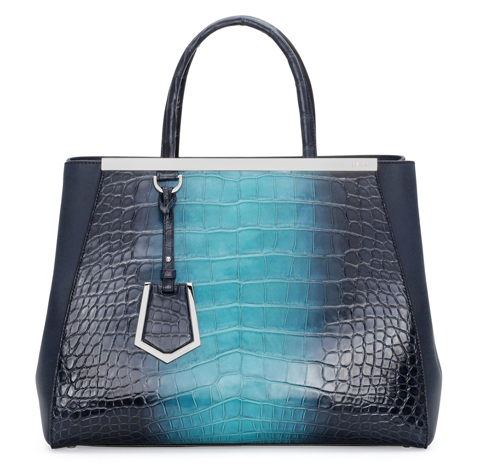 Fendi Alligator 2Jours Bag