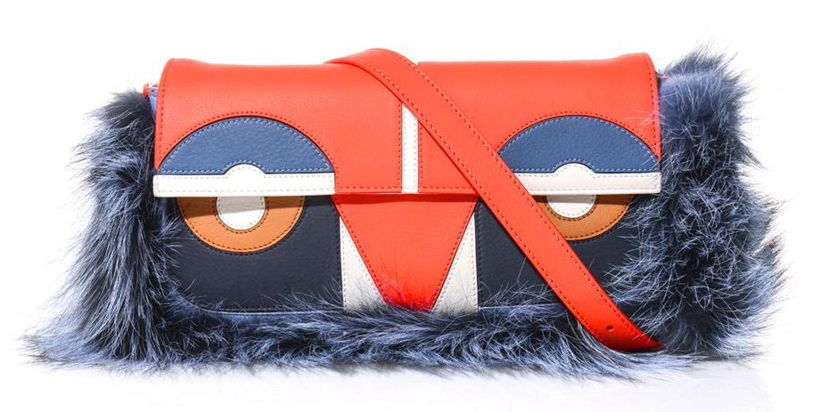Fendi Baguette Bag Bugs Shoulder Bag, $2,610 via MATCHESFASHION.COM