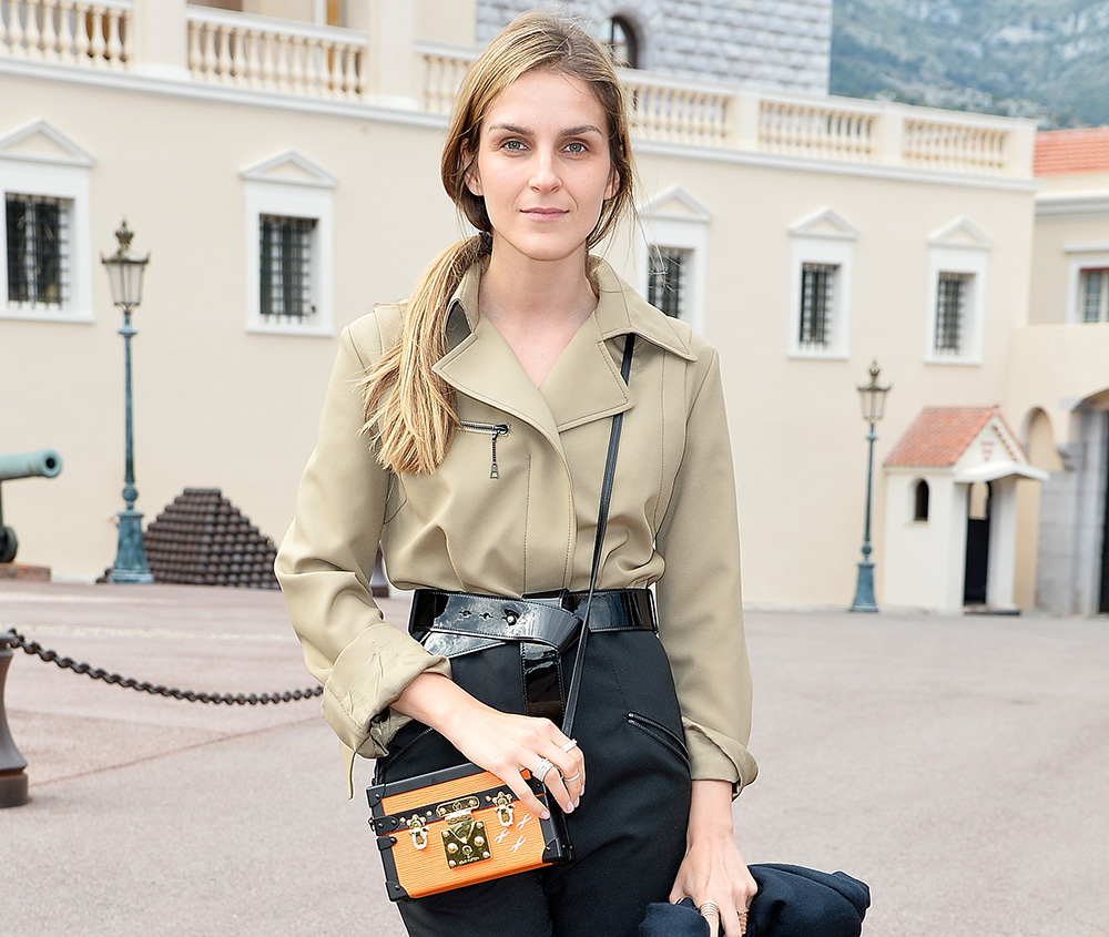 Gaia Repossi Louis Vuitton Petite-Malle Bag