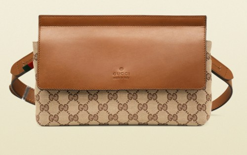 edbac09d0df767 Gucci Original GG Canvas Belt Bag - PurseBlog