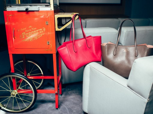 Mother Daughter Pairs: Gucci Swing Totes