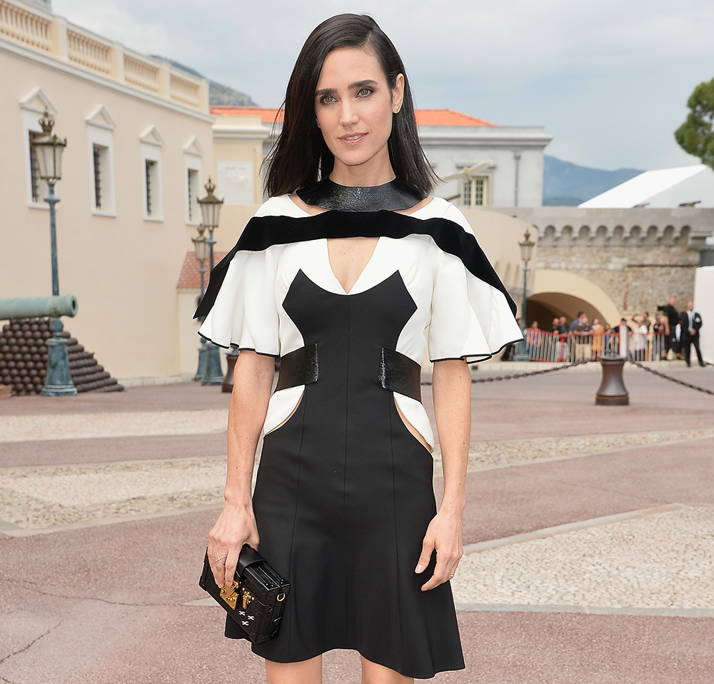 Jennifer Connelly Louis Vuitton Petite-Malle Bag