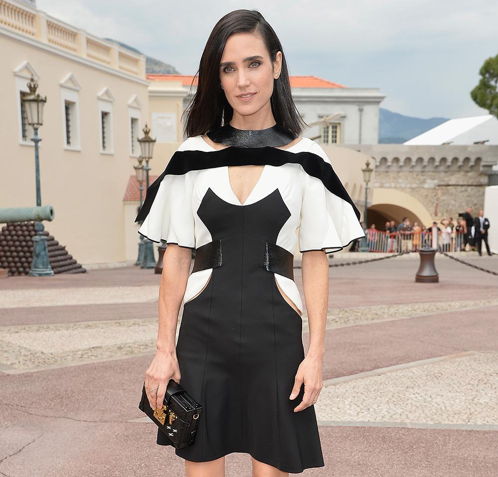 Jennifer Connelly Louis Vuitton Petite-Malle Bag