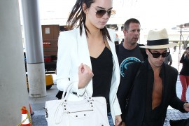 Kendall Jenner is the Latest Sister Headed to Kim's Wedding, This Time with Balenciaga