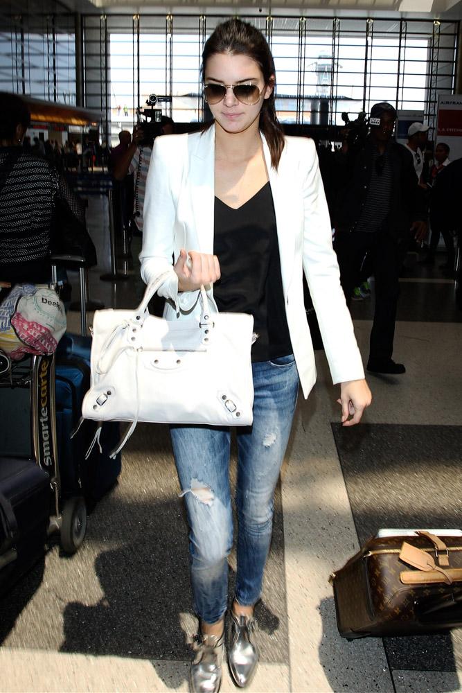 Kendall Jenner Balenciaga City Bag-3