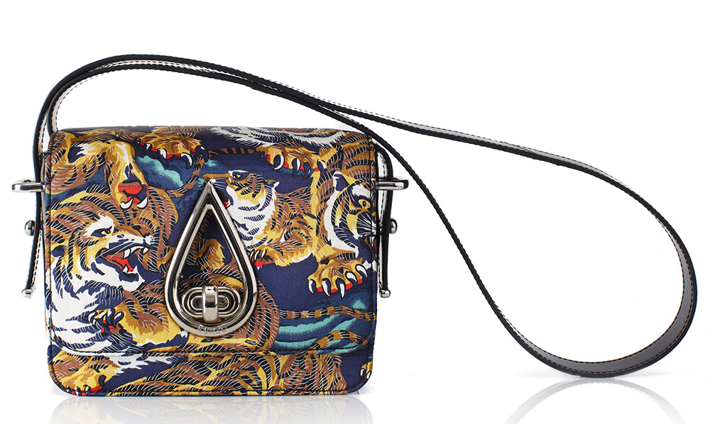 Kenzo Small Flying Tiger Shoulder Bag