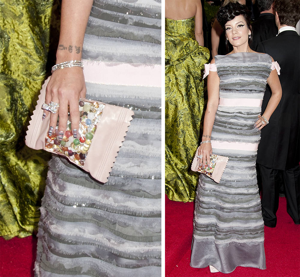 Lily Allen Chanel Candy Clutch