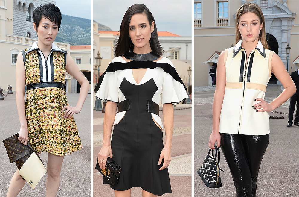 Louis Vuitton Cruise 2014 Show Handbags Attendees