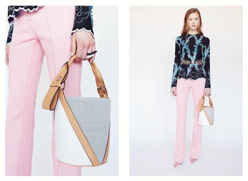 Louis Vuitton V Bucket Bag