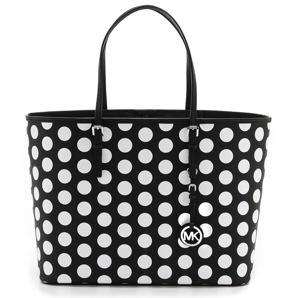 MICHAEL Michael Kors Jet Set Polka Dot Travel Tote