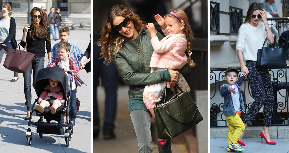 The Many Bags of Celebrity Moms - Page 26 of 51 - PurseBlog 1f3bc5fd39329
