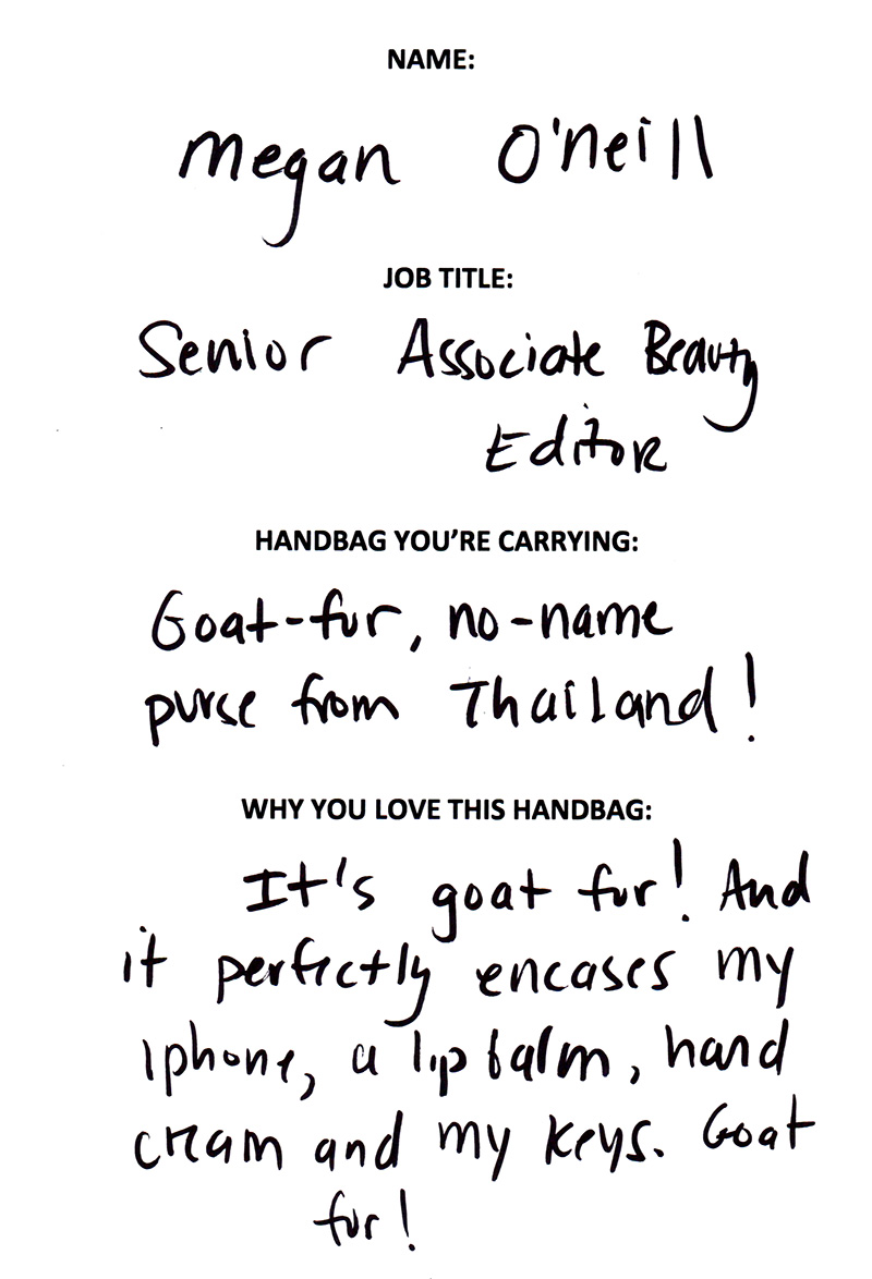 Megan O'Neill Goat Fur Thailand Answers