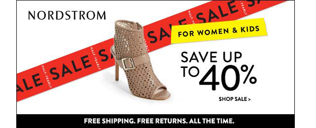 Nordstrom Half Yearly Sale 2014