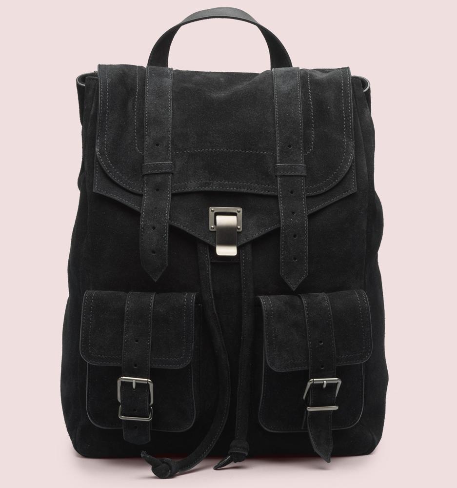 Proenza Schouler PS1 Suede Backpack