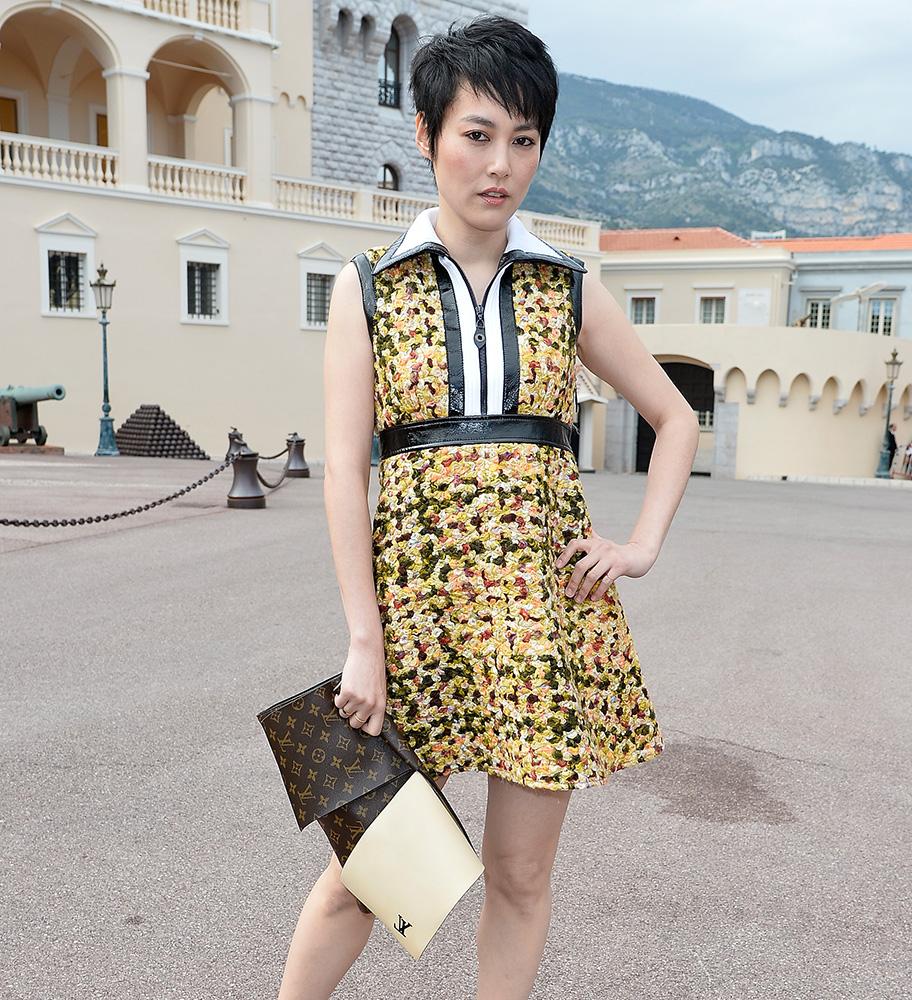 Rinko Kikuchi Louis Vuitton Flap Clutch