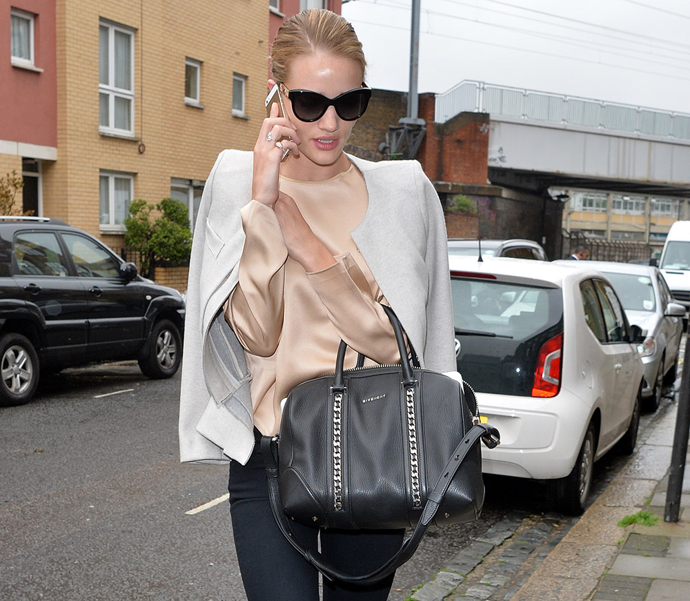107115374aa Fresh from Cannes, Rosie Huntington-Whiteley Carries Givenchy ...
