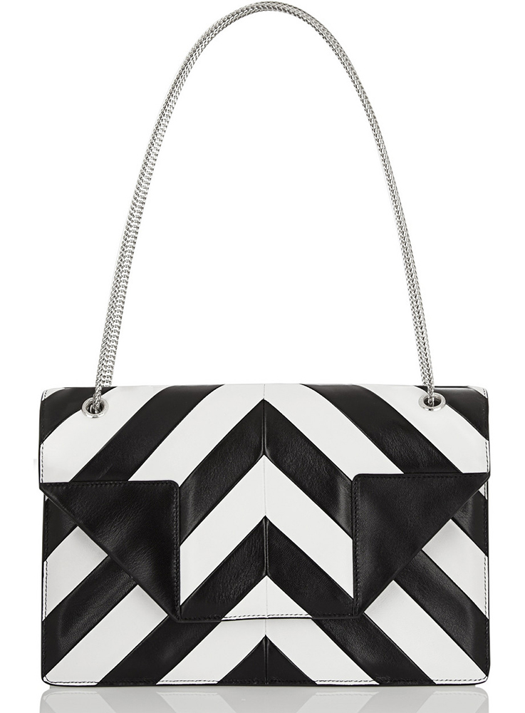 Saint Laurent Striped Betty Bag