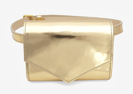 Sonia Rykiel Metallic Belt Bag