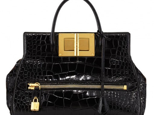 Tom Ford Natalia Alligator Doctor Bag