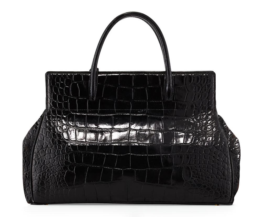 Tom Ford Natalia Alligator Doctor Bag Rear