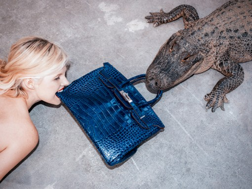 "In Need of More Birkin-Based Attention, Tyler Shields Feeds ""Hermes"" to an Alligator"