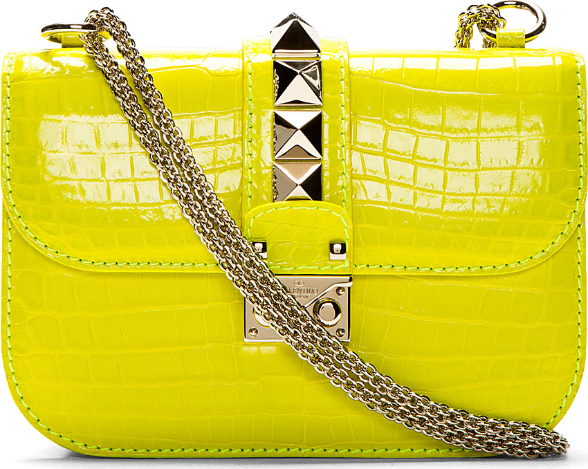 Valentino Crocodile VaVaVoom Bag