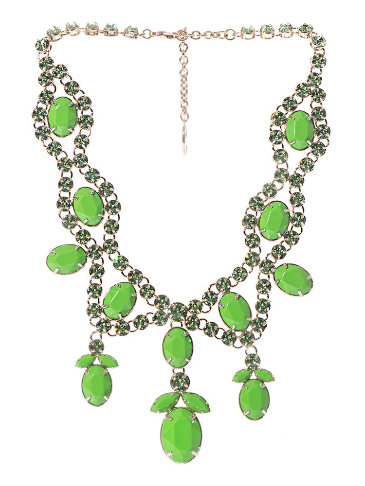 Valentino Statement Crystal Necklace