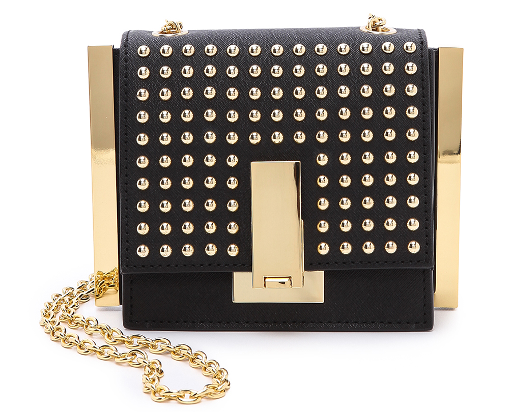 ZAC Zac Posen Studded Loren Mini Crossbody Bag